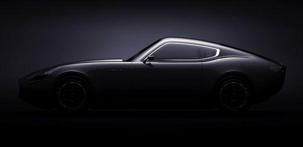 Jaguar E-type concept by Laszlo Varga, via Behance
