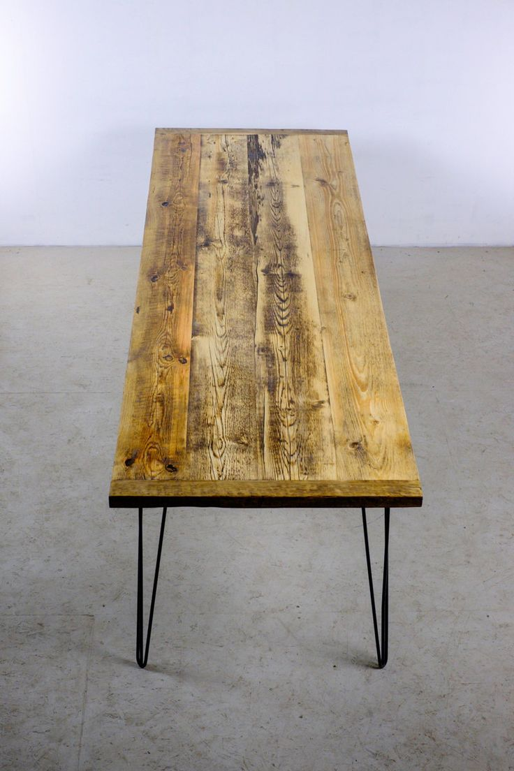 Reclaimed Wood Dining Table, Modern And Industrial Home Furiniture Piece,  The GRAND KENT At