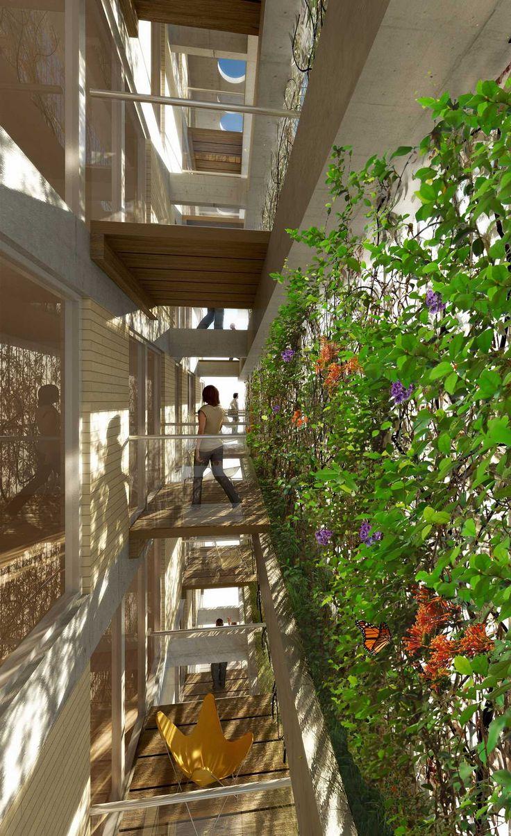AMENÁBAR | Proyecto C. Autores: Arq. Sebastián Cseh - Arq. Juan Cruz Catania. #arquitectura #architecture #greenwall