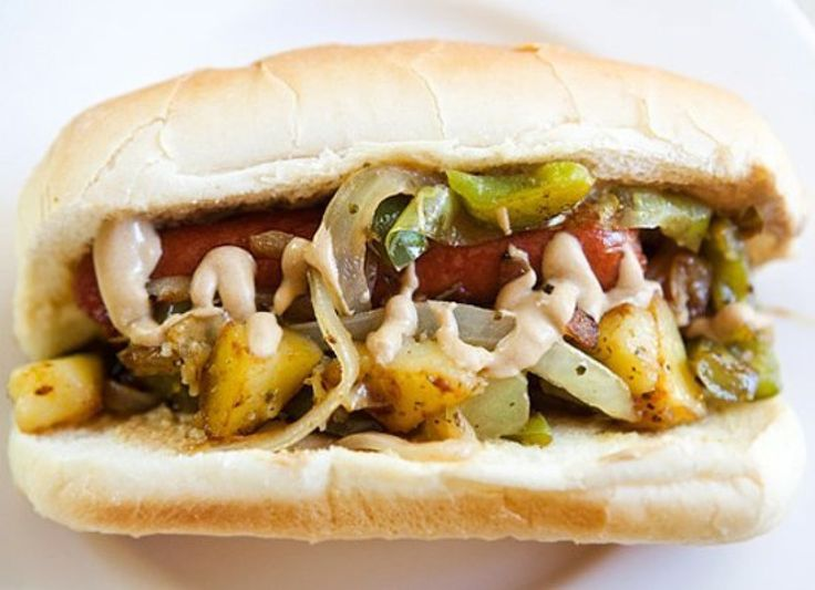 Get the New Jersey Italian Dog recipe from Simply Recipes. This Italian-inspired New Jersey hot dog recipe is like a take on sausage and peppers, but it also includes chunks of potato. Dont forget the Italian seasoning!