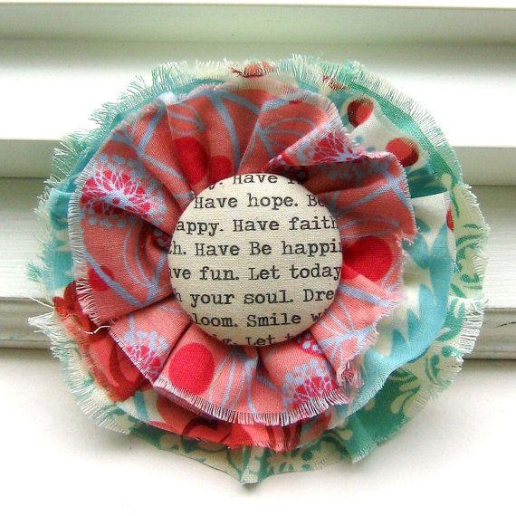 Feste stoff (batikk, noter, tekst etc) til knapper Fabric jewelry | Fabric Flower Pin, Christian Jewelry, Fabric Flower Pin, Flower Pin ...