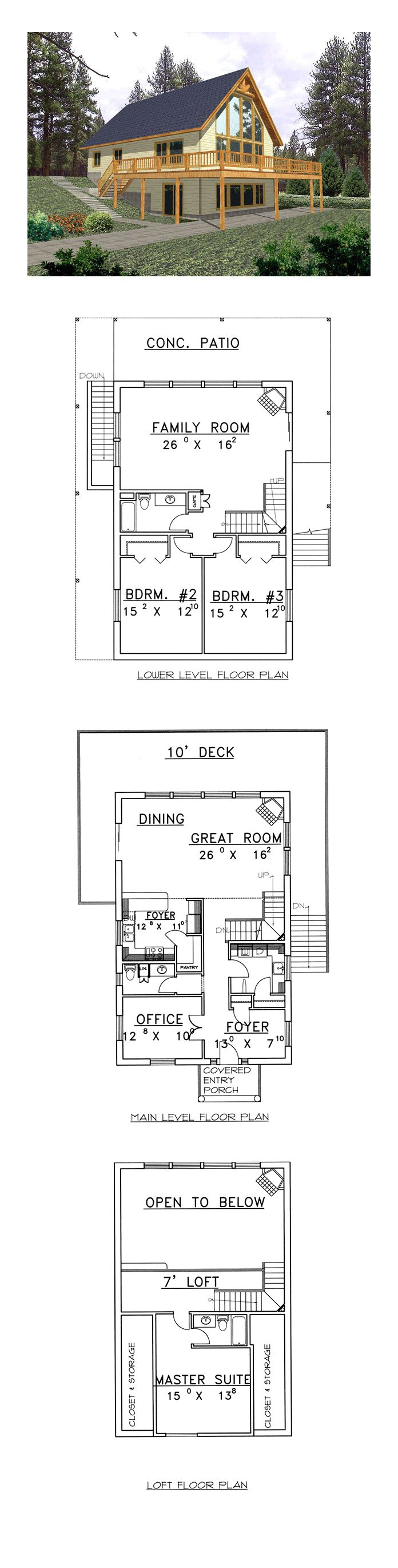 50 best contemporary house plan images on pinterest contemporary contemporary house plan 87079