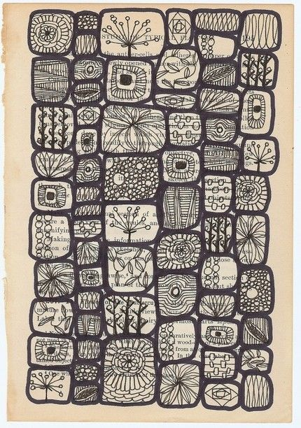 lives of a cell, print by swallowfield (jennifer judd mcgee) on Etsy
