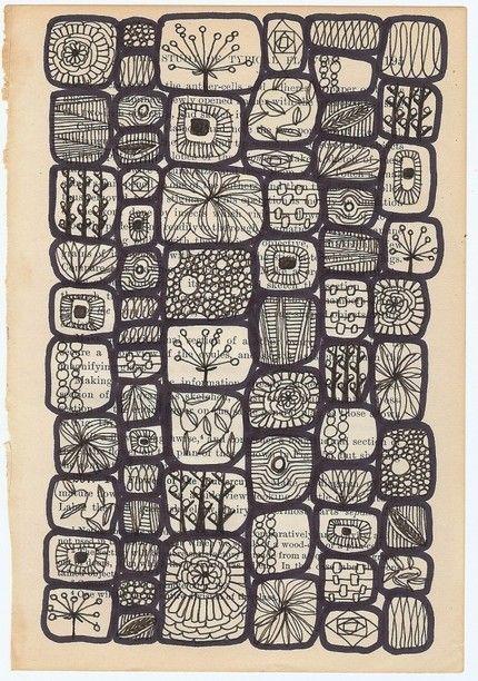so many tangles...inspiration