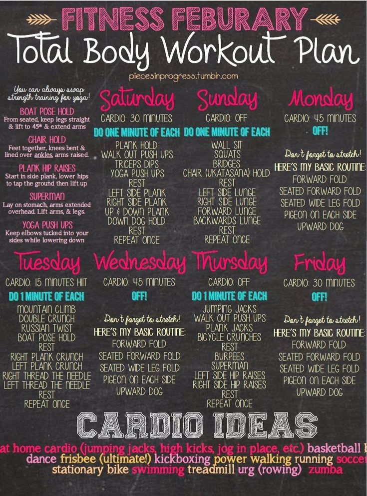 Best 25+ 6 week workout plan ideas on Pinterest Home exercise - weekly workout plan
