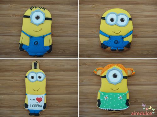 Minions Cookies - Galletas Minions