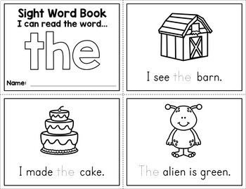 graphic relating to Printable Sight Word Readers known as Sight Phrase Mini Textbooks - Cost-free Tutoring/Homeschool Sight