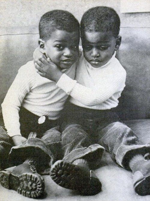 MY BROTHER'S KEEPER: Unidentified  Boys, undated.