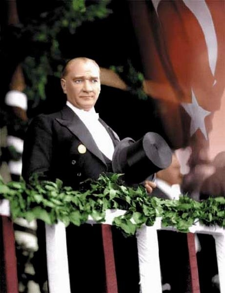 Ataturk Founding Father of the Turkish Repulic.