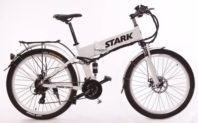 Stark Drive folding electric bike