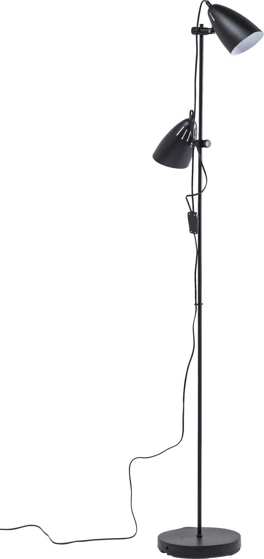 Kare design :: Lampa podłogowa Dr No czarna