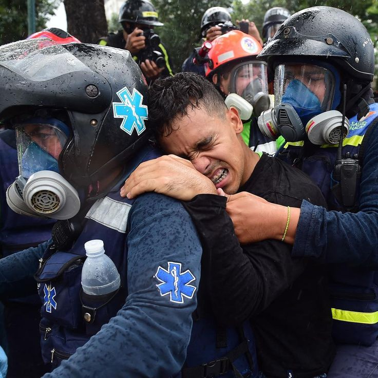 A wounded anti-government activist is carried away by medics during clashes in Caracas on July 30. Deadly violence erupted around Sunday's controversial and broadly boycotted elections of a Constituent Assembly. One candidate was slain in his home the night prior. At least 10 people were killed in the demonstrations, making Sunday one of the deadliest days since the protests ignited in early April.⠀ ⠀ President Nicolas Maduro, widely disliked for overseeing the collapse of Venezuela's…