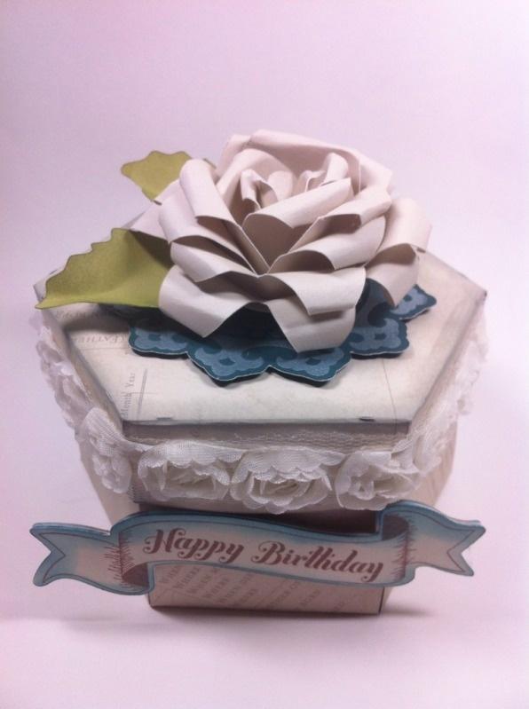 Happy birthday flower box made using Cricut Artiste and a video!: Everyday Cards, Happy Birthday, Cricut Artists Boxes, Artists Cartridges, Birthday Flowers, Flowers Boxes, Ctmh Cricut Videos, Everyday Cricut, Ctmh Artists