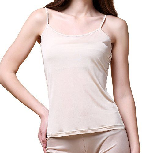 Paradise Silk Pure Silk Knitted Women's Camisole Tank Top - http://www.darrenblogs.com/2016/08/paradise-silk-pure-silk-knitted-womens-camisole-tank-top/