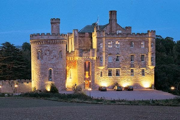 Dalhousie Castle Scotland Home Of My Ancestors The