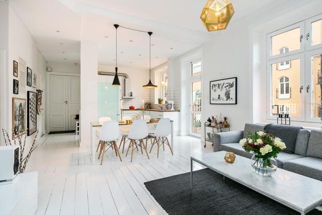 Cocinas en el salón. | Decorar tu casa es facilisimo.com