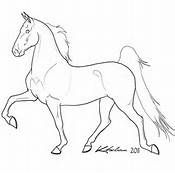 line drawing of horse - Bing Images