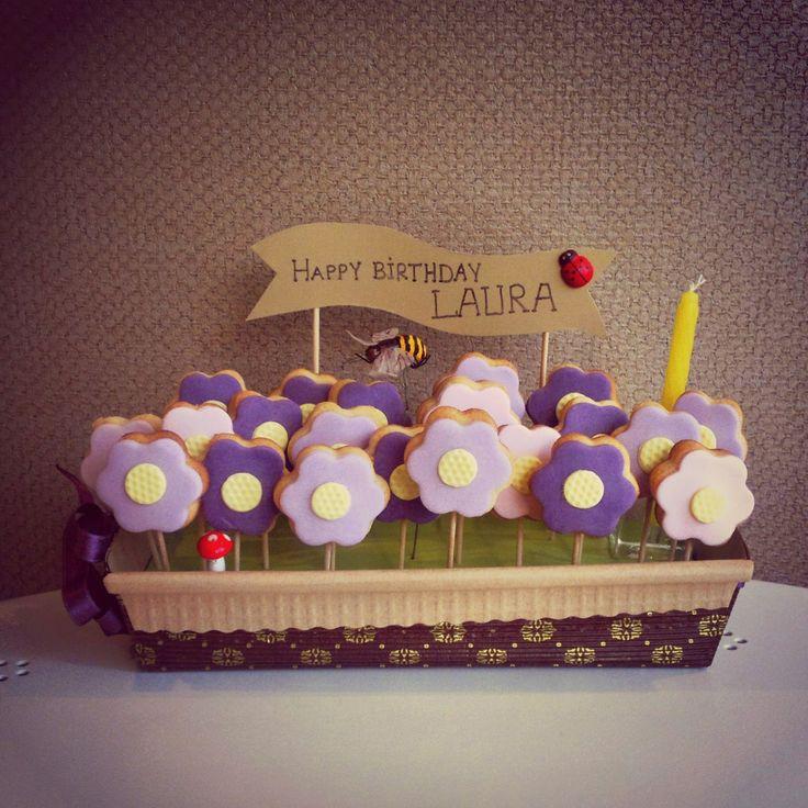 CAFEMORİN FLOWER BIRTHDAY COOKIES