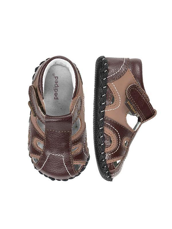 Brody Brown Tan Sandal