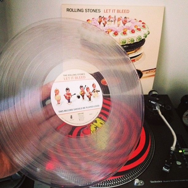 Rolling Stones Quot Let It Bleed Quot Vinyl Pinterest