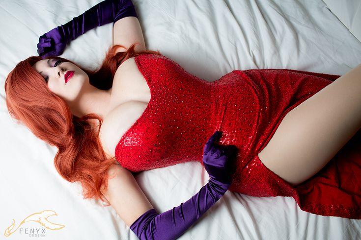 Gorgeous Jessica Rabbit cosplay redhead