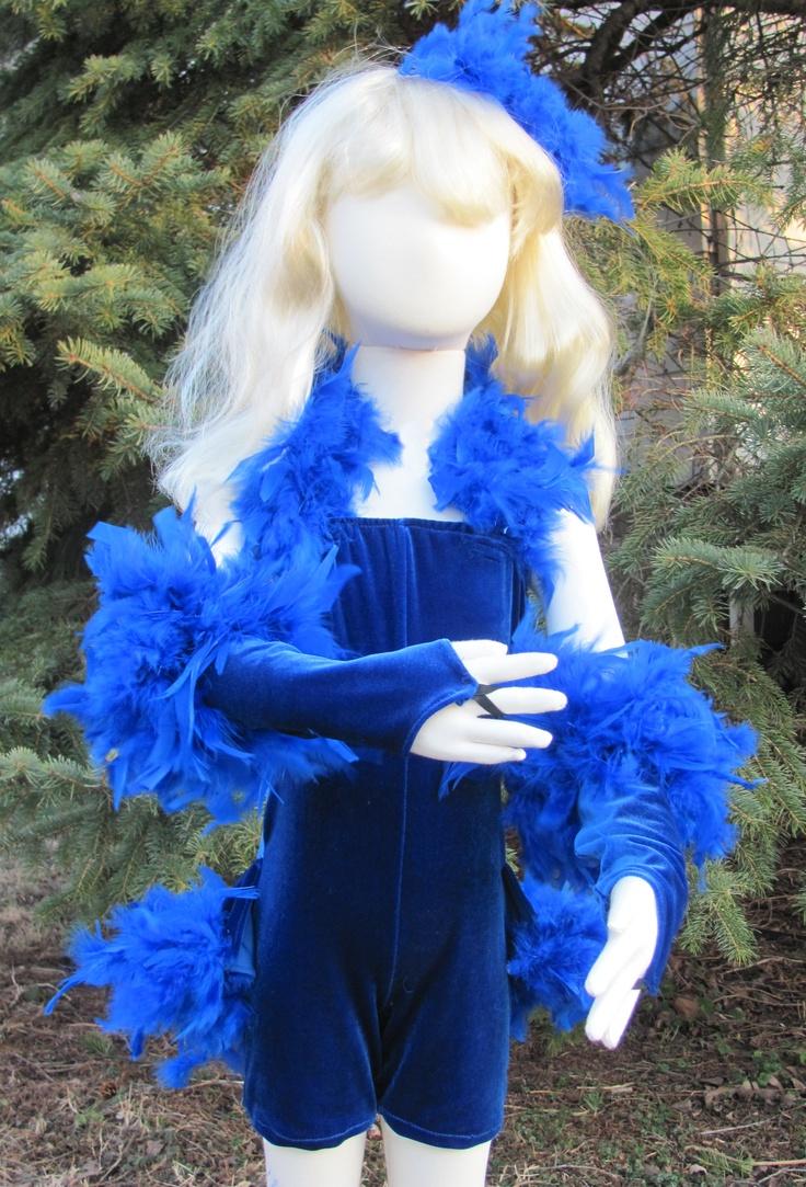 Snow white apron etsy - Blue Bird Dance Recital Costume For Dance Production Of Snow White 10 Little Blue Birds