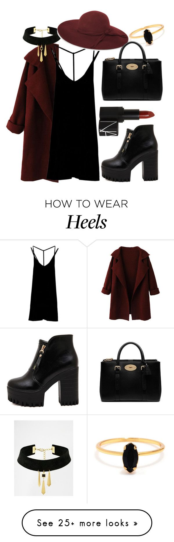 """That same old love."" by boneca-costa on Polyvore featuring moda, WithChic, RVCA, Suzywan DELUXE, French Connection, NARS Cosmetics, Bing Bang, Mulberry, women's clothing y women's fashion"