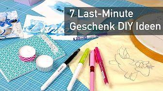 (102) 5 Geschenke TIPPS - selbstgemacht DIY ! | günstig und schnell - YouTube