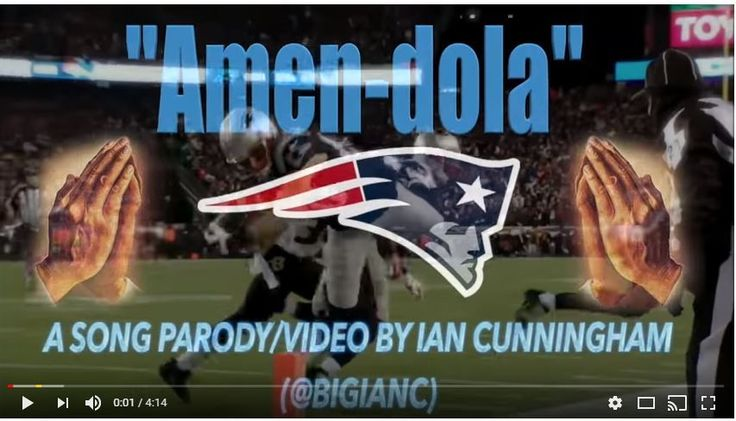 Danny James Amendola is a wide receiver and punt returner for the New England Patriots. He played college football at Texas Tech until 2007. That is why we're bringing you the latest YouTube parody...