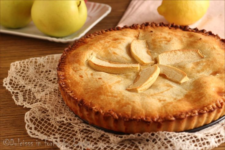 Crostata di mele coperta la crostata cuor di mela for Crostata di mele