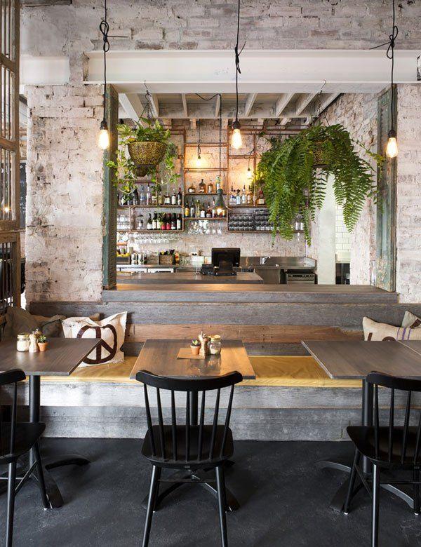 Industrial Chic Restaurant In Melbourne Feast Of Merit Cafe Design Restaurant Decor Restaurant Design