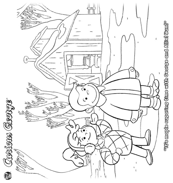 curious george coloring pages games - photo#13