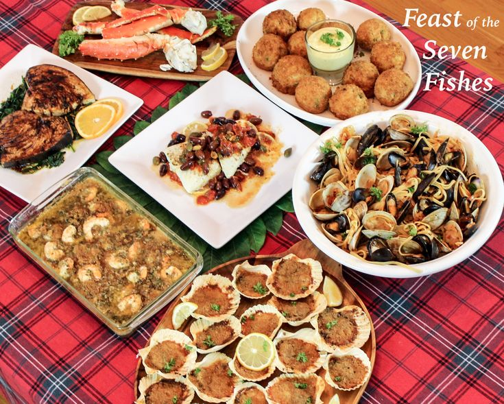 88 best Christmas Eve/ 7 Fishes Dinner images on Pinterest ...