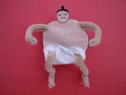 Mini Sumo Wrestler Craft