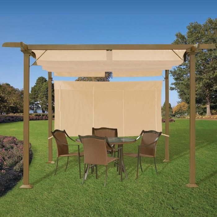 21 Best Images About Pergola W Retractable Awning On