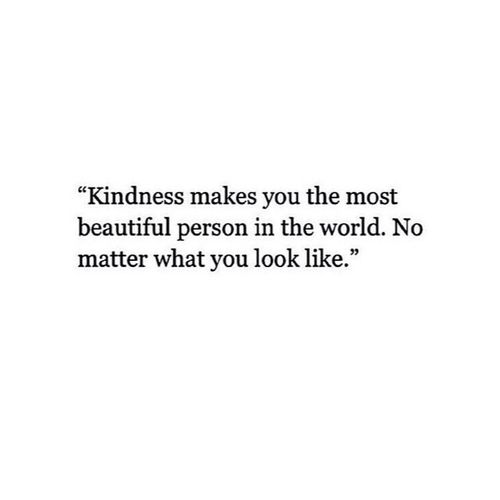 Happiness makes you the most beautiful person in the world. No matter what you look like.