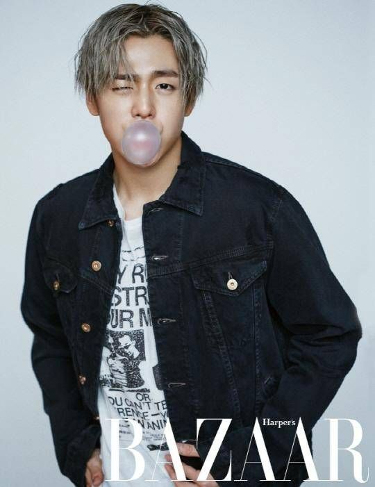 Lee Hyun Woo is a bad boy in 'Harper's Bazaar' | allkpop.com