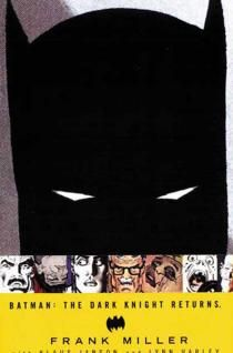 """""""Batman: The Dark Knight Returns"""" by Frank MIller with Klaus Janson and Lynn Varley ($14.99) - Possibly the single most important Batman story of the last thirty years, """"The Dark Knight Returns"""" has influenced every Batman story told since, in one way or another. Whole volumes have been written about its historical significance in pop culture. No Batman library - no comic book library - is complete without it."""
