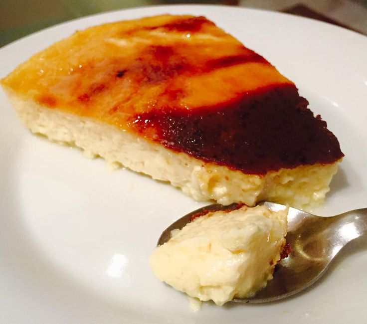 Baked custard is a thick, rich, creamy sweet or savory dessert, made mixtures of eggs or egg yolks, milk or cream, flavorings (vanilla, nutmeg, etc).
