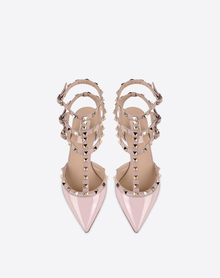 Boutique en ligne Valentino - Chaussures à Bride Rockstud Femme Valentino
