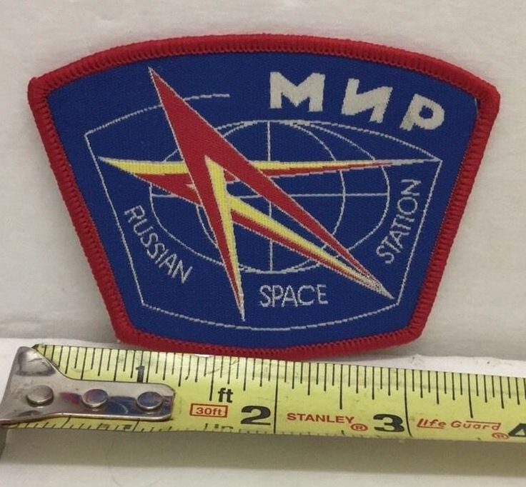 International Russian Space Station ISS Soviet Sleeve Patch MNP