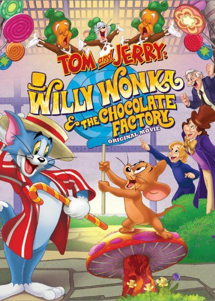 Tom and Jerry Willy Wonka and the Chocolate Factory Movie