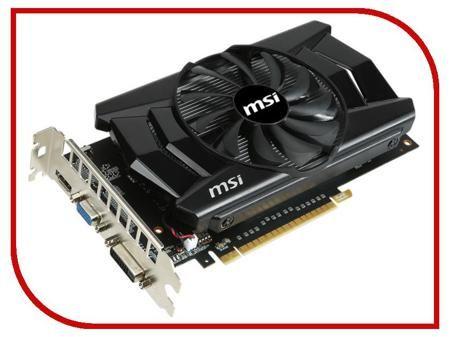 Видеокарта MSI GeForce GTX 750 Ti 1059Mhz PCI-E 3.0 2048Mb 5400Mhz 128 bit DVI HDMI HDCP N750Ti-2GD5/OC / V809-174S / N750Ti-2GD5/OCV1  — 7060 руб. —
