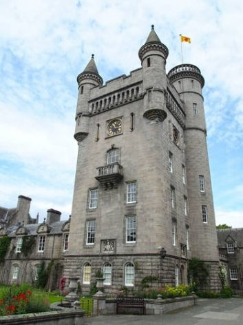 Balmoral Castle in in Aberdeenshire, Scotland was a gift to Queen Victoria