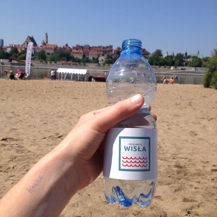 Pij wodę nad Wisłą. Dzielnica Wisła