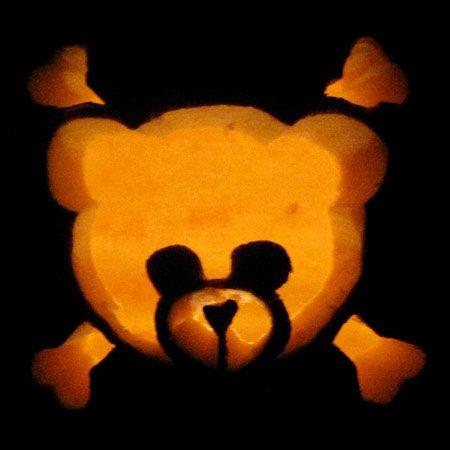 Quot Bad To The Bear Quot Pumpkin Carving Pumpkin Carving