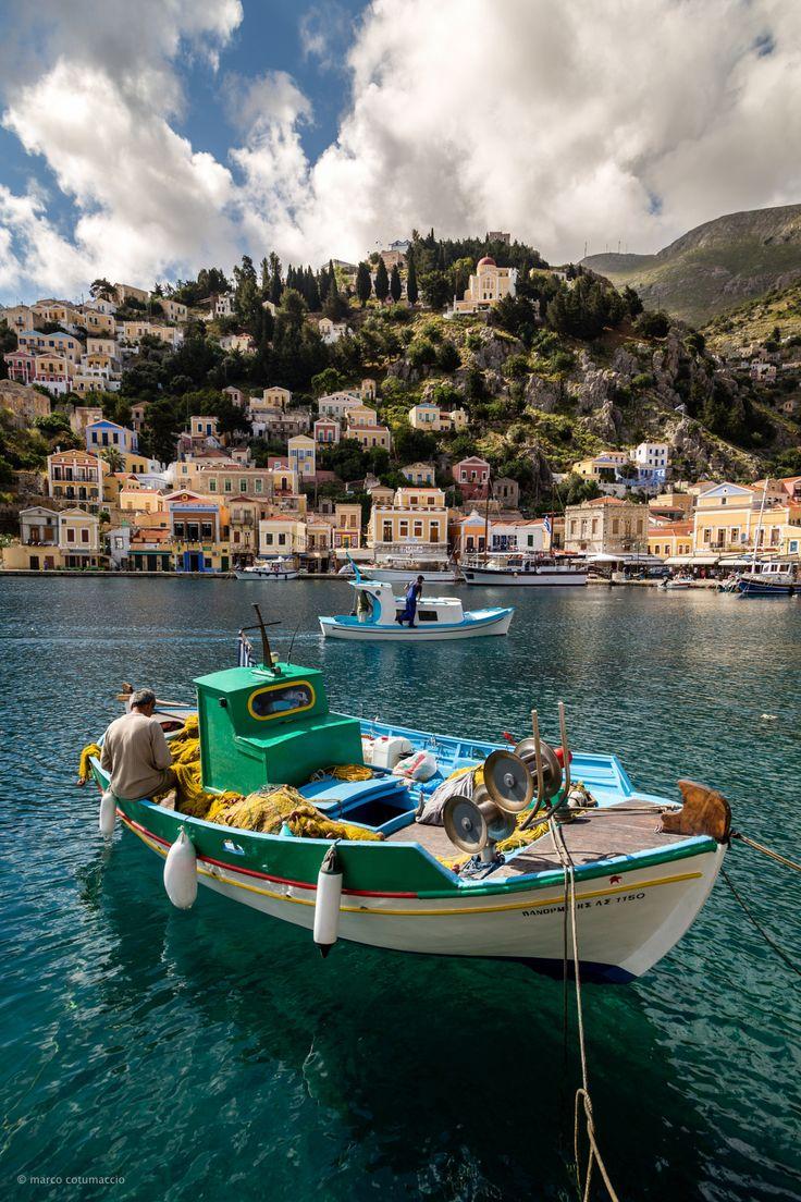 It's a beautiful world - Symi Greece (by Marco Cotumaccio))