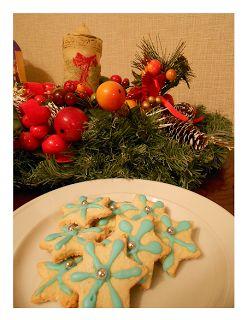 Nutricion Sattvica: Galletas Navidad