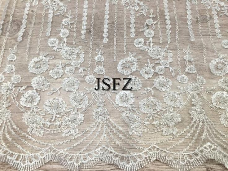 Fashion beaded lace fabric,3d lace,Ivory pearl bead lace fabric with floral,bridal lace fabric,embroidery lace fabric,wedding lace fabric by Jennylacefabric on Etsy