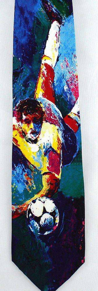 FIFA World Cup Richard Wallich Mens Necktie Soccer Football Silk Art Neck Tie  #RichardWallich #NeckTie